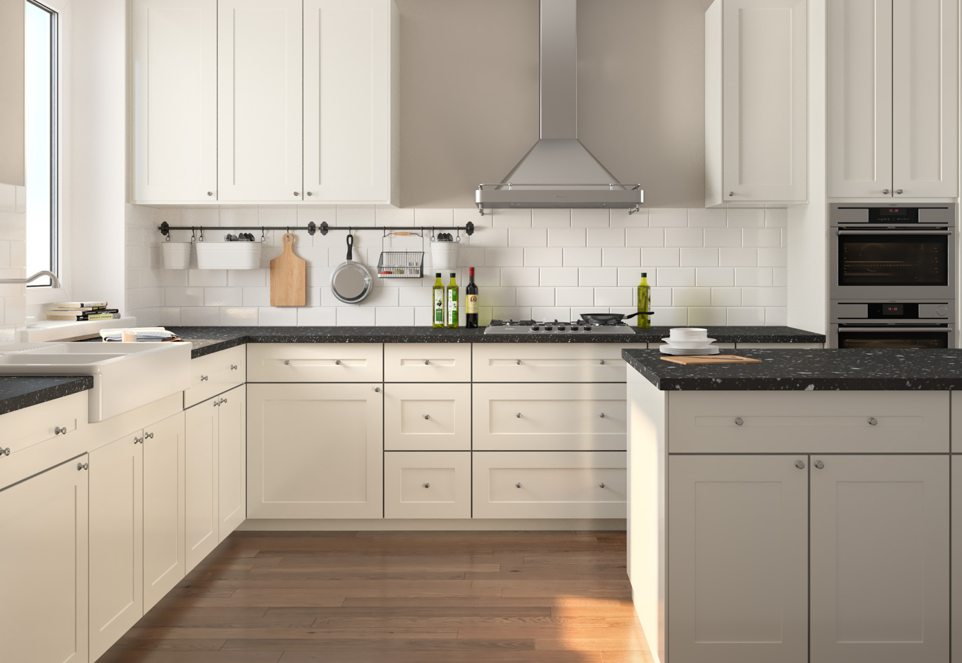Kitchen Cabinets Chesapeake Va : Built In Bookcase Hack ...